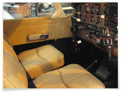 Aircraft Interior Refurbishment Light Fixed Wing And Rotary Aircraft Bespoke Interior