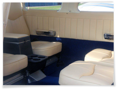 Aircraft Interior Refurbishment - Light, Fixed wing and